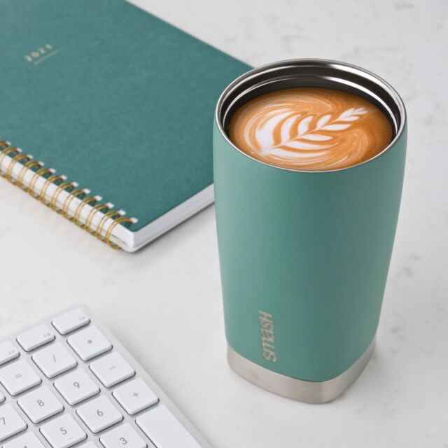 Drink your coffee in style with our Smash Blue Stainless Steel Barista Buddy! #smashblue #littledropsmakebigwaves