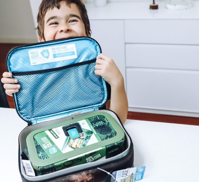 """""""The face you make when you know lunch is going to be good! 😄 Our Caddy Cold Box and Bento Cold Box are the perfect pair! @our_captured_life"""""""